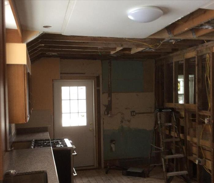 Kitchen Broken Pipe  Cortland, NY After
