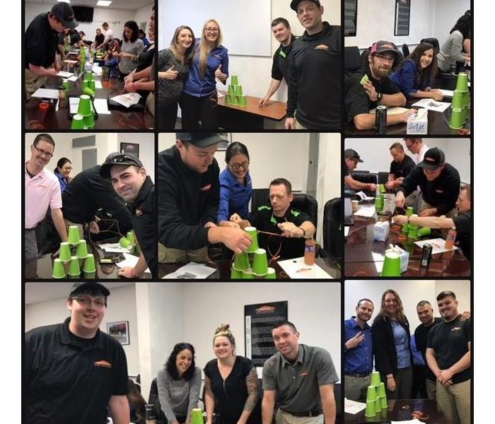 Why SERVPRO Team Building Activities